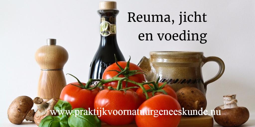 reuma, jicht en voeding
