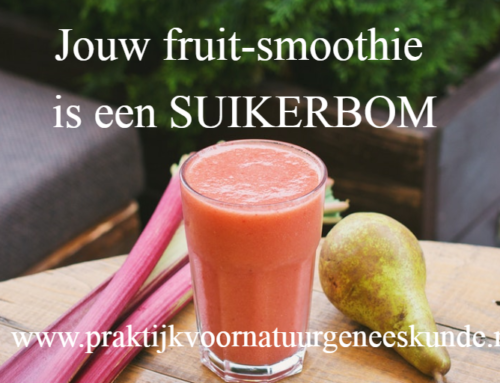 Jouw fruit-smoothie is een suikerbom