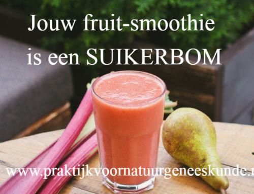 Jouw fruit-smoothie is een suikerbom