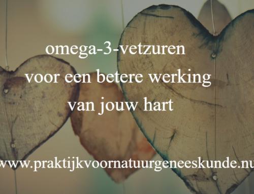 omega-3-vetzuren voor beter herstel bij hartinfarct